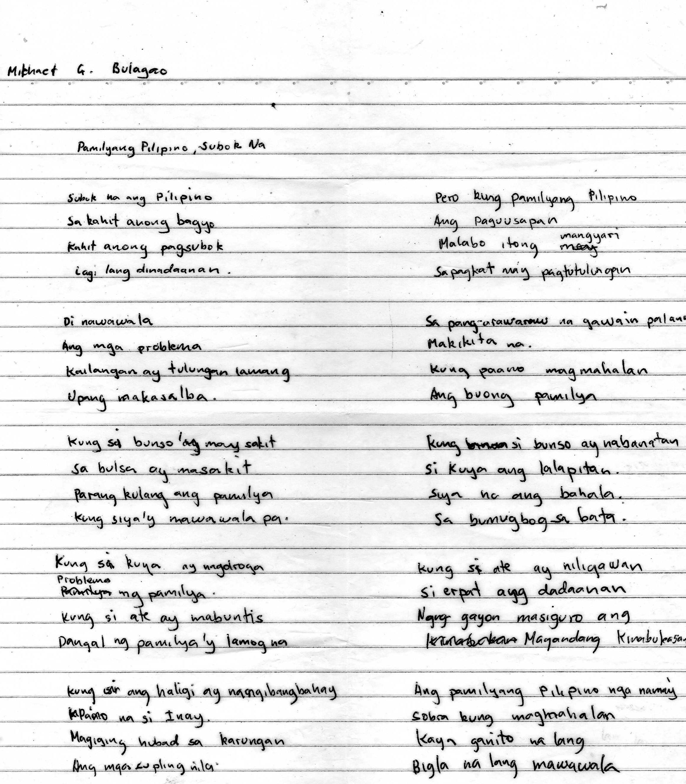 tula para sa dating kasintahan How to say lover in tagalog  a kasintahan is someone with whom you have promised love  tula para sa buwan ng wika 2018.